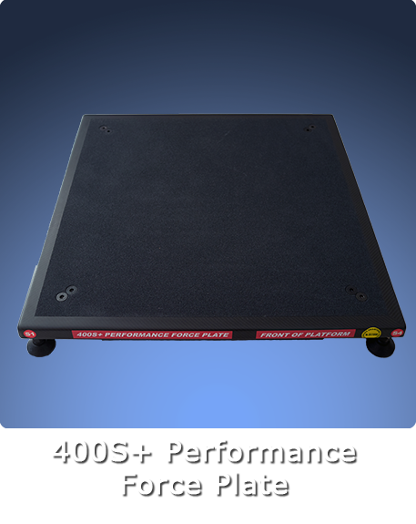 400 Series + Performance Force Plate