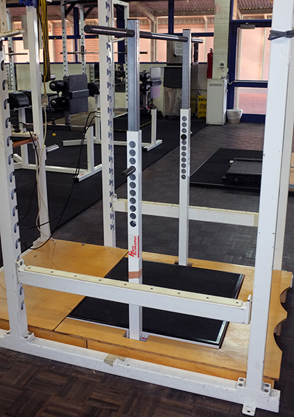 FT700 Power Cage with Mid Thigh Pull Rig