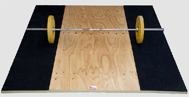 Olympic Traning Platform with Bar